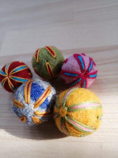 オトナの庭★羊毛ボール